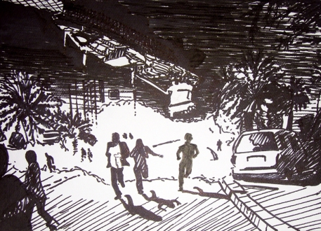 1.j.anckarsvard.9x12,drawing.bahrain.oil.spill