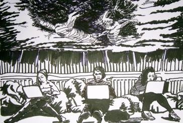 6.j.anckarsvard.9x12,drawing.wolf.bully